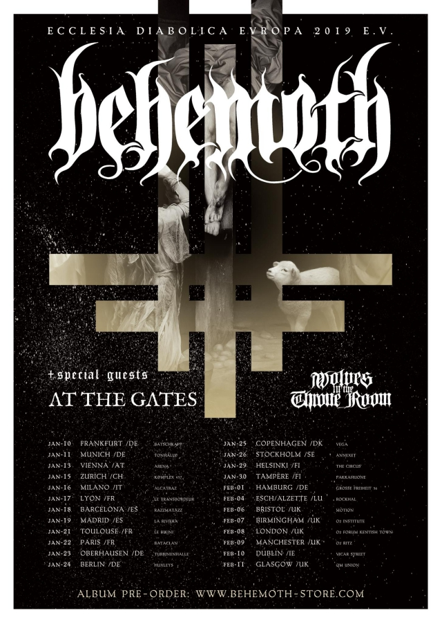 At The Gates Official Website